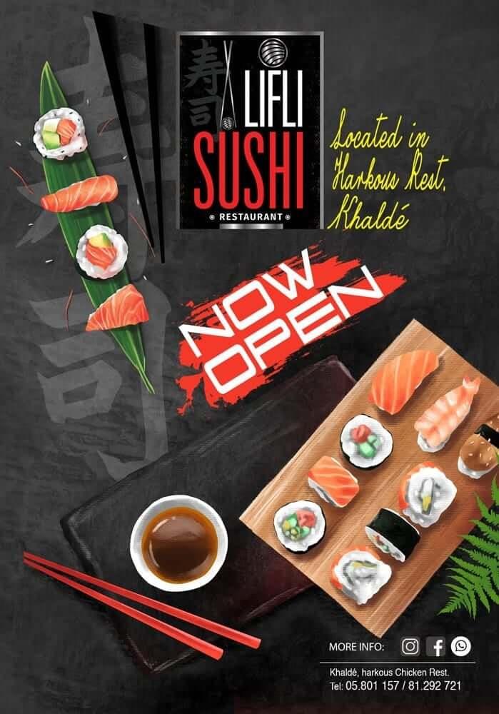 Iifli sushi lebanon